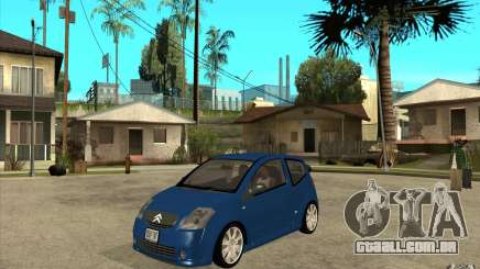 Citroen C2 - Stock para GTA San Andreas