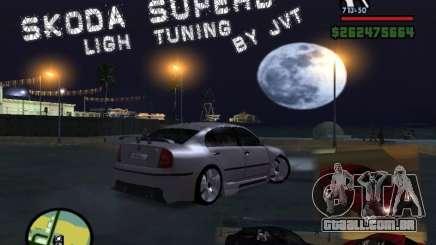 Skoda Superb Light Tuning para GTA San Andreas