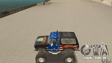 Chevrolet Blazer K5 Monster Skin 3 para GTA San Andreas