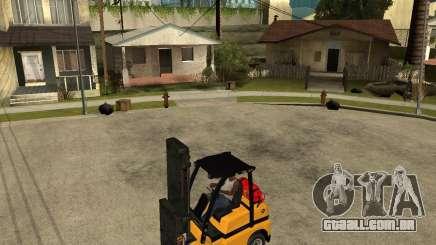 Forklift GTAIV para GTA San Andreas