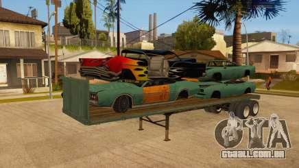 Rede de arrasto para GTA San Andreas