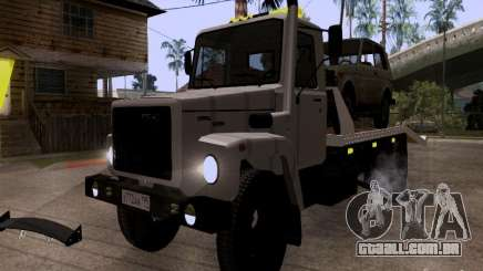 Caminhão de reboque de GAZ 3309 para GTA San Andreas