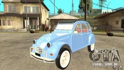 Citroen 2CV para GTA San Andreas