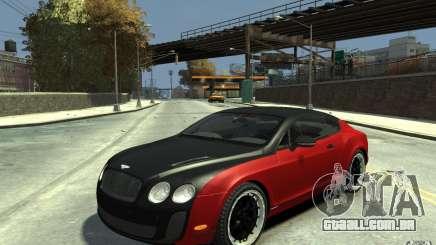 Bentley Continental GT SS para GTA 4