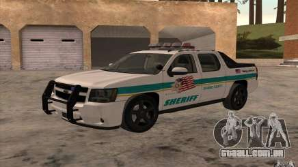 Chevrolet Avalanche Orange County Sheriff para GTA San Andreas