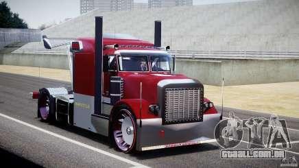 Peterbilt Sport Truck Custom para GTA 4