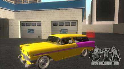 Chevrolet Bel Air Nomad 1956 stock para GTA San Andreas
