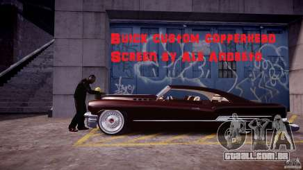 Buick Custom Copperhead 1950 para GTA 4
