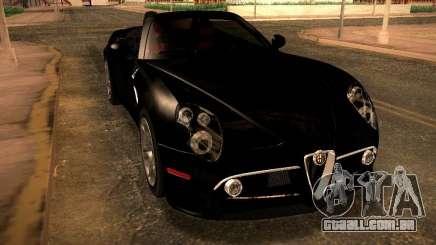 Alfa Romeo 8C Spider 2012 para GTA San Andreas