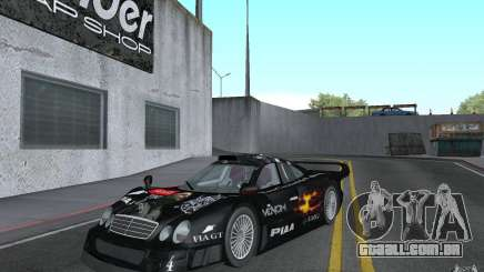 Mercedes-Benz CLK GTR road version (v2.0.0) para GTA San Andreas