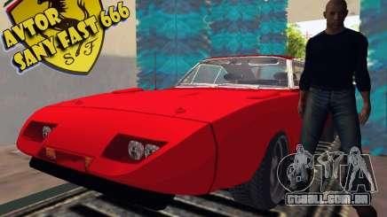 Dodge Charger Daytona Arman 6 para GTA San Andreas