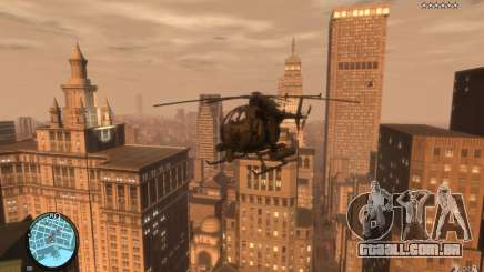 AH-6 Little Bird AcuDigital Camo para GTA 4