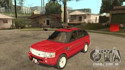 Range Rover Sport 2007 para GTA San Andreas
