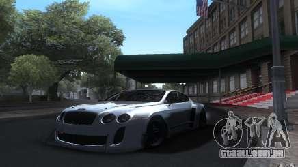 Bentley Continental Super Sport Tuning para GTA San Andreas