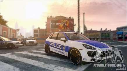 Porsche Cayenne Cop para GTA 4