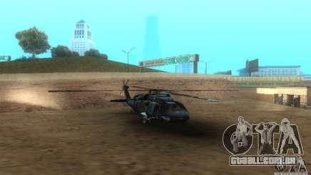 UH-60M Black Hawk para GTA San Andreas