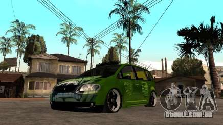 Volkswagen Touran The Hulk para GTA San Andreas