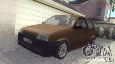 Fiat Cinquecento para GTA San Andreas