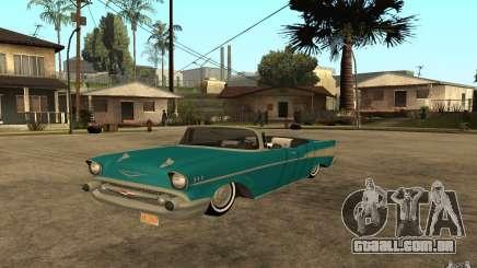 Chevrolet Bel Air 1956 Convertible para GTA San Andreas