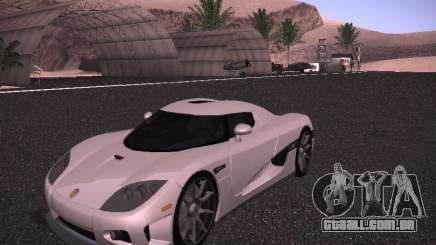 Koenigsegg CCX 2006 para GTA San Andreas