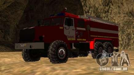 Ural 43206 AC 3.0-40 (6 x 6) para GTA San Andreas