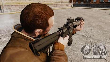 Tático M4 v3 para GTA 4 segundo screenshot
