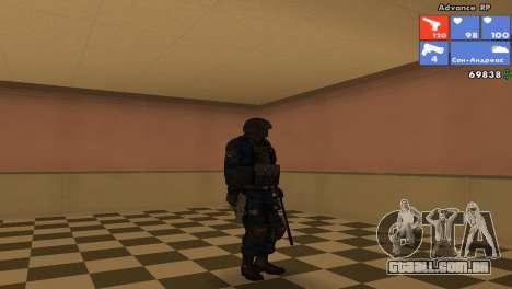 Pele da SWAT para GTA San Andreas