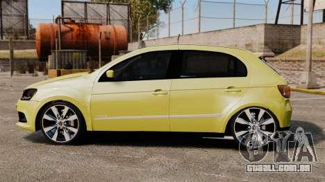 Volkswagen Gol G6 para GTA 4 esquerda vista