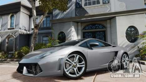 Lamborghini Gallardo LP560-4 [Final] v1 para GTA 4