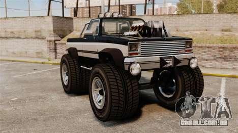 Monster Truck para GTA 4