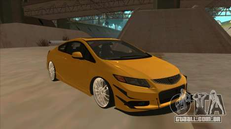Honda Civic SI 2012 para GTA San Andreas esquerda vista