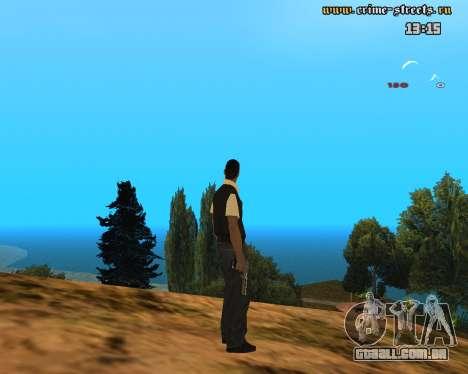 White Chrome Desert Eagle para GTA San Andreas segunda tela