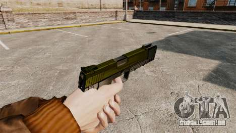 Carregamento automático pistola USP H & K v5 para GTA 4 segundo screenshot