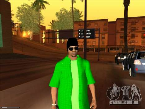 Nova pele Groove st. para GTA San Andreas