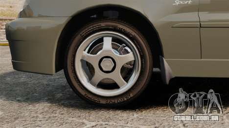 Daewoo Lanos Sport PL 2000 para GTA 4 vista de volta