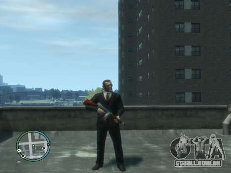 Thompson para GTA 4 quinto tela