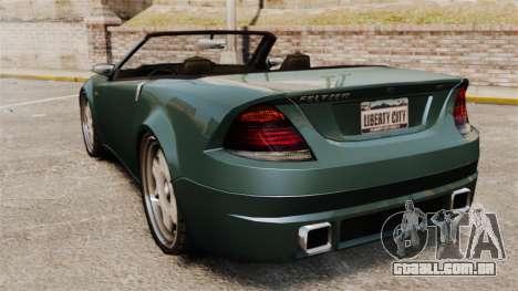 Feltzer modificado para GTA 4 traseira esquerda vista