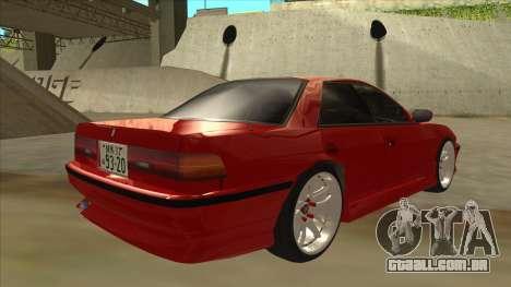 Toyota Chaser JZX81 Touge Style para GTA San Andreas vista direita