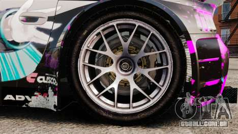 BMW Z4 M Coupe GT Miku para GTA 4