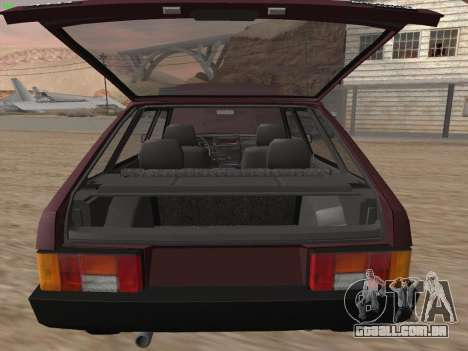 VAZ 2109 para as rodas de GTA San Andreas