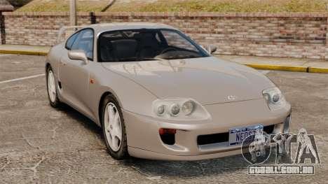 Toyota Supra MKIV 1995 v3.5 para GTA 4