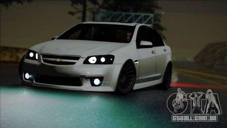 Chevrolet Omega para GTA San Andreas vista direita