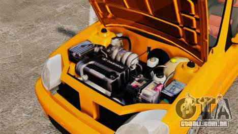 Daewoo Lanos Sport US 2001 para GTA 4 vista interior