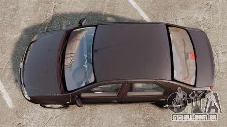 Dacia Logan 2008 v2.0 para GTA 4 vista direita