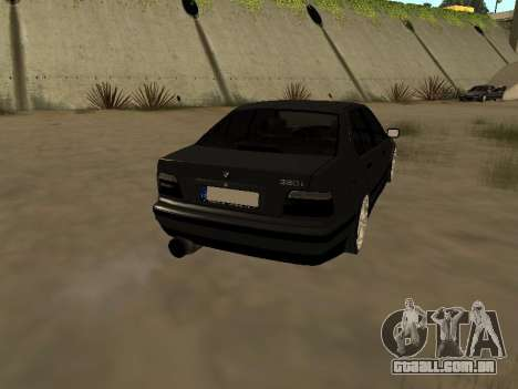 BMW 320i E36 para GTA San Andreas esquerda vista
