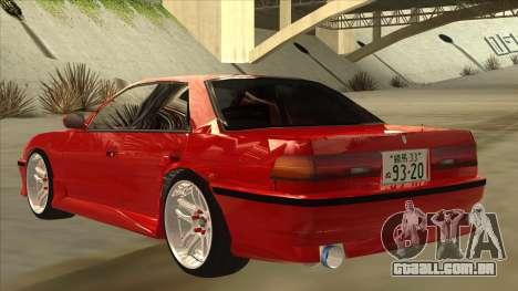 Toyota Chaser JZX81 Touge Style para GTA San Andreas vista traseira