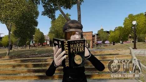 O livro de Harry Potter para GTA 4