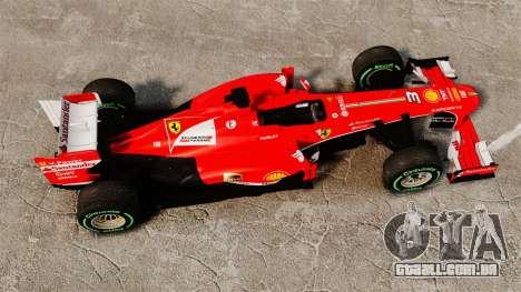 Ferrari F138 2013 v3 para GTA 4