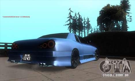 Elegy awesome D.edition para GTA San Andreas vista direita