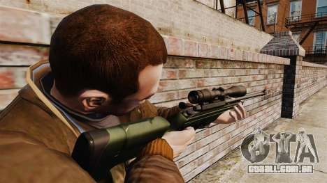 Rifle sniper Sako TRG-42 para GTA 4 segundo screenshot